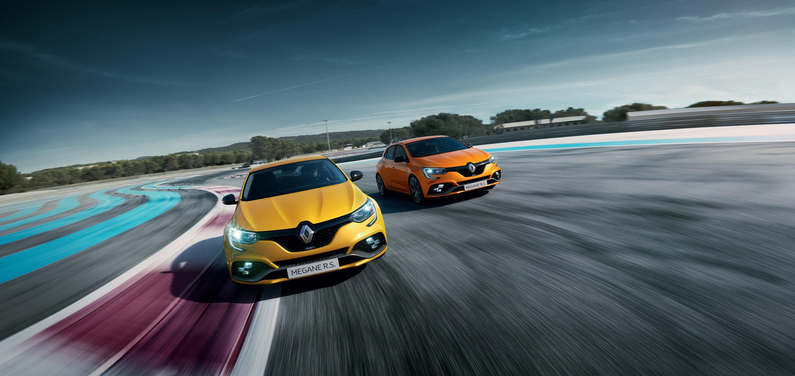 Objevte Nový Renault MEGANE R.S.